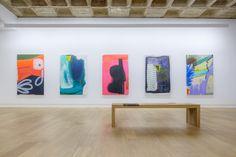 ANDERS KJELLESVIK / MONIQUE VAN GENDEREN / J. ARIADHITYA PRAMUHENDRA Galerie Michael Janssen, Berlin 17. August - 7. September, 2013  #Painting #Art #Color #MoniquevanGenderen