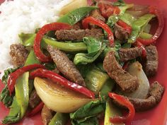 Beef stir-fry with asian greens, beef recipe, brought to you by recipes