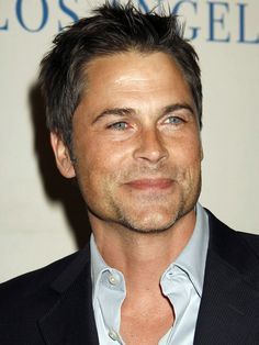 Rob lowe....mmmmmmmm  like a good wine...so much better with age..