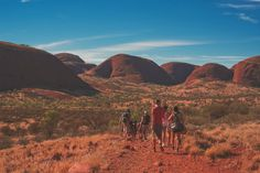 The amzing Olgas, Australia, Red Center