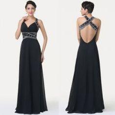 f81dba94ac1 černé sexy dlouhé večerní společenské šaty - plesové šaty