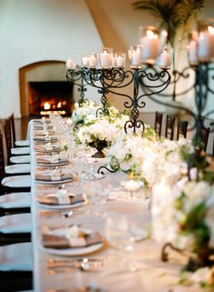 Candelabra Class.. Perfect way to dress up a table