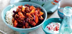 You can't beat a bowl of filling chilli for a family favourite, and this version's packed with tasty beans and peppers, so it's super satisfying!