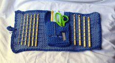 Crochet Hook Case  by Alice Piggott, via Flickr