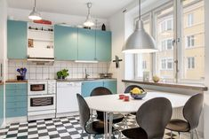 Kitchen, retro interior