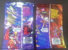Bolsas de sabritas de los caballeros del zodiaco |1994
