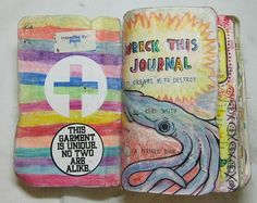 Journal Ideas Wrecked Journals Wreck This
