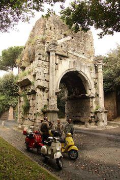 Tour en Vespa por Roma