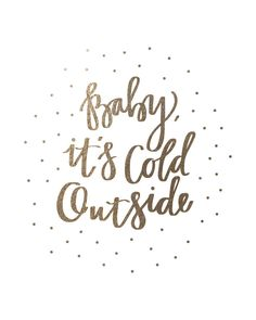 Snow Baby Foil-Pressed Art Print by Marabou Design | Minted