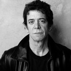 Lou Reed, Former Frontman For The Velvet Underground (1942-2013.) RIP Lou...your genius will be missed.