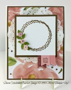 You're So Lovely & English Garden DSP.  Try circle of spring wreath here
