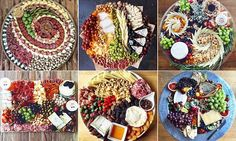 Craze sweeps Instagram for artistic cheese and charcuterie plates | Daily Mail Online