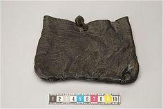 Leather purse, Kalmar, Sweden. Medieval