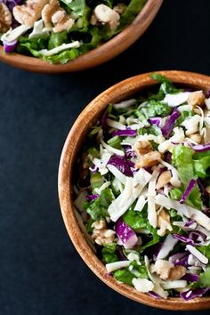 Another cabbage salad.  Looks hearty and rather yummy.