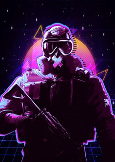 "Beautiful ""rainbow six"" metal poster created by The Master. Our Displate metal prints will make your walls awesome. Rainbow Six Siege Art, Rainbow 6 Seige, Rainbow Six Siege Memes, Tom Clancy's Rainbow Six, Rainbow Art, R6 Wallpaper, Zombie Wallpaper, Game Wallpaper Iphone, Rainbow Wallpaper"