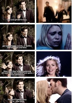 Sometimes he says one thing, and we think he's really talking about another one. Because for some, it's always been about #rosetyler and #ten.