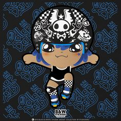 Roller Derby Helmets :Stickers Project [Blue] by Sikan techakaruha #rollerderby #rollergirl