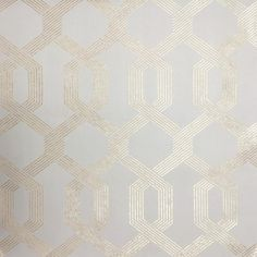 Viva Lounge York Wallpaper Wallpaper York Beiges Gold Art Deco Geometric Wallpaper Lattice Wallpaper Metallic Wallpaper Mid Century Modern Wallpaper Trellis & Quatrefoil Wallpaper , Non Woven, Easy to clean , Easy to wash, Easy to strip