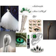 Andromeda Aeon (AKA Life) from The Fate Chronicles by alexis-miller-3 on Polyvore featuring art