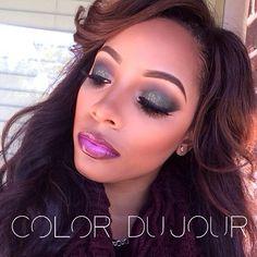 www.TheColorDuJour.com #flashbackfriday #colordujour #colordujourbrushes #houstonmua #houstonmakeupartist #vegas_nay #mua - @Alaina Saulsberry- #webstagram