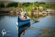 Testing the waters | Senior Portraits by Claussen Photography