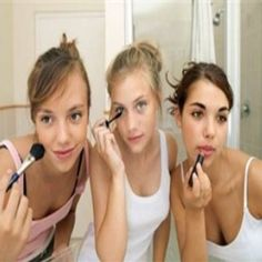 Makeup Tips For Teen Girls, not looking forward to this....