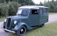1937 Ford Housecar, discovered in pristine, original condition. Exceedingly rare. http://www.motorhome-travels.co.uk/