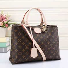 fa4f74229cd0 LV Women Shopping Leather Tote Crossbody Satchel Shoulder Bag Handbag. Louis  Vuitton ...