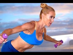 22-Minute Cardio HIIT Workout =  Intense Fat Loss TABATA At Home  Workout With Weights - YouTube