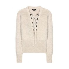 Isabel Marant Charley Lace Up Sweater