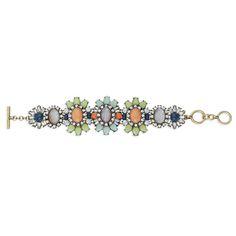 Heritage Blossom Statement Bracelet can be yours - shop www.chloeandisabel.com/boutique/dianedobish