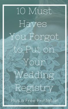 The Essential Wedding Registry List For Your Kitchen  Wedding