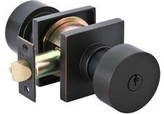 Emtek 512ROU Round Single Cylinder Keyed Entry Knobset