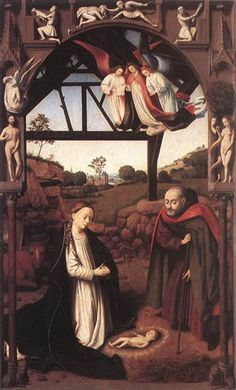 Nativity - Petrus Christus-1452