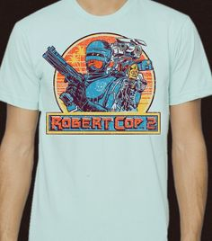 For fans of #bootlegtoys, specifically #RobertCop ..it's the RobertCop2 #tshirt!!