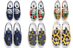 New Vans x Kenzo collection (Spring/Summer 2013)