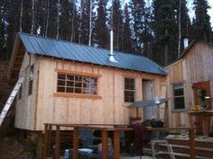 Adventures of science boy: Quartz Lake cabin addition
