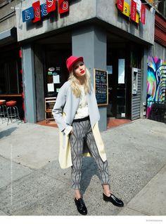 Blondie Style: Anna Piirainen by Matallana for Blank Magazine