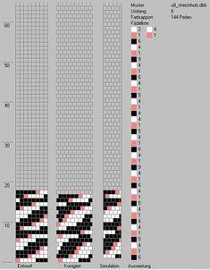 8 around tubular bead crochet rope pattern Spiral Crochet Pattern, Crochet Bracelet Pattern, Loom Bracelet Patterns, Crochet Beaded Bracelets, Bead Crochet Patterns, Peyote Stitch Patterns, Bead Crochet Rope, Beaded Jewelry Patterns, Beading Patterns