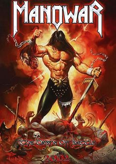 Metal Wallpaper Nash: Manowar The Dawn Of Battle Heavy Metal Art, Heavy Metal Bands, Power Metal, Pop Rock, Rock And Roll, Black Sabbath, Hard Rock, Rock Y Metal, Classic Rock