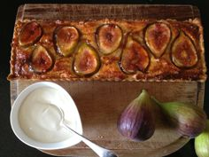 Little Pudding: A French Fig Tart