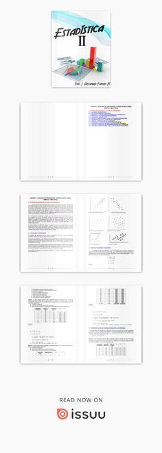 Estadística II  Portafolio de evidencias del semestre completo.