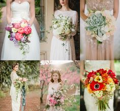 Oversized Wedding Bouquets Mood Board from The Wedding Community