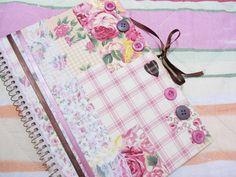Caderninho Floral