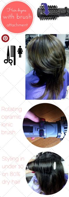 Best Blow Dryer with Comb Attachment Guide #hair #hairtutorial #haircare #hairstyle via @hotairbrush