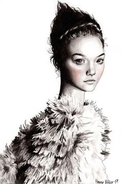fashion,fashion illustration,illustration,pencil illustrations,fashion pencil illustrations,fashion blog,blog,cyana,trendland,@limitlessfashion.blogspot.com