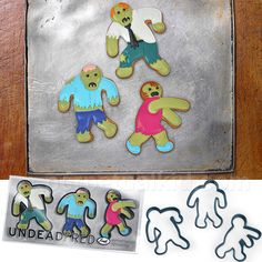 UNDEAD GINGERBREAD CUTTERS