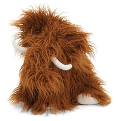 "Jellycat Truffle Wooly Mammoth - Large: Jellycat make the most charming and huggable toys. Truffle is 30"" and can be unfolded for a cozy nap."