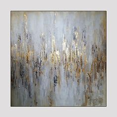 Modern Abstract Hand Painted Oil Painting on Canvas with Frame 2016 - £74.89