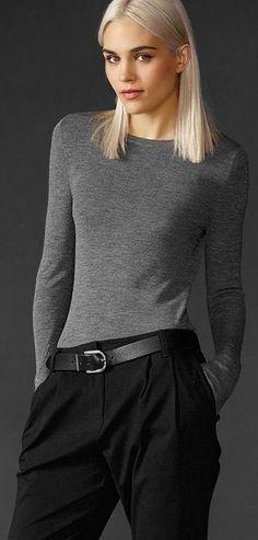 9e7c5435ec6c Eileen Fisher Retro Mode, Garde Robe, Veste, Chic Minimaliste, Mode Femme,